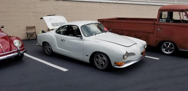 Karmann Ghia with a Turbo 2989 cc Flat-Four