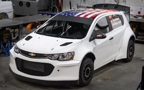 PMR Motorsports AWD Chevy Sonic with a LS3 V8