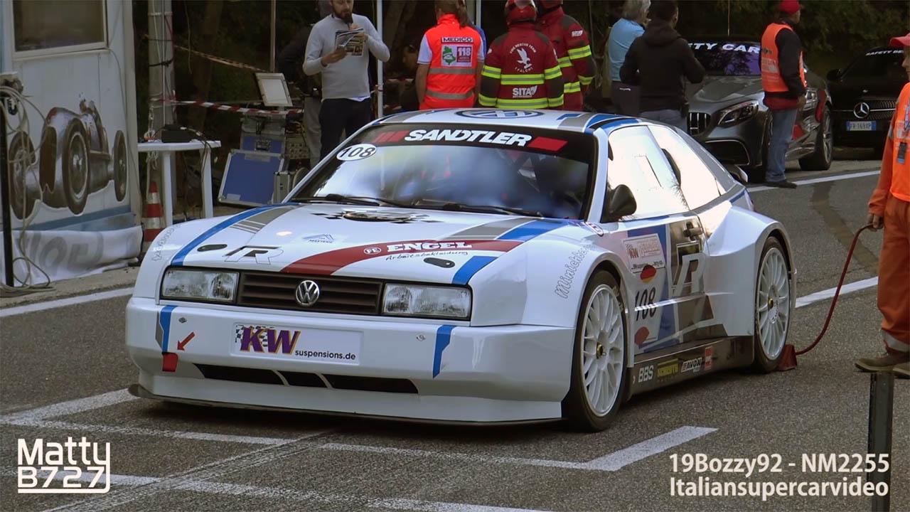 VW Corrado with an Audi 2.0 L inline-four