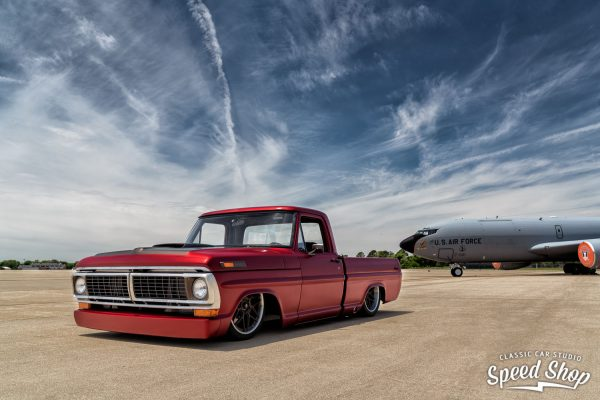 1970 Ford F-100 with a Boss 520 ci V8
