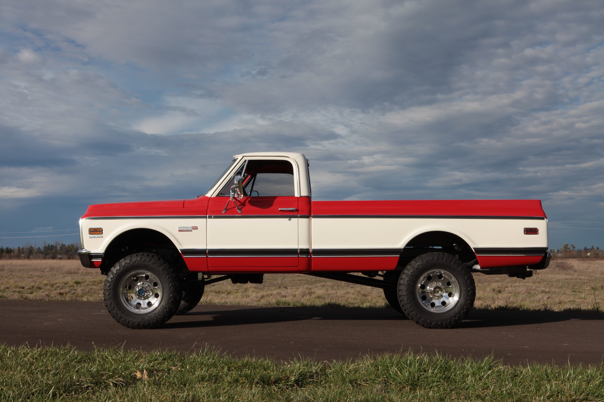 1972 Chevy Truck With A Supercharged Lsa V8 Engineswapdepot Com