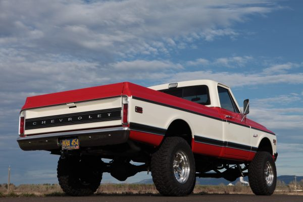 1972 Chevy Cheyenne Truck with a Supercharged LSA V8