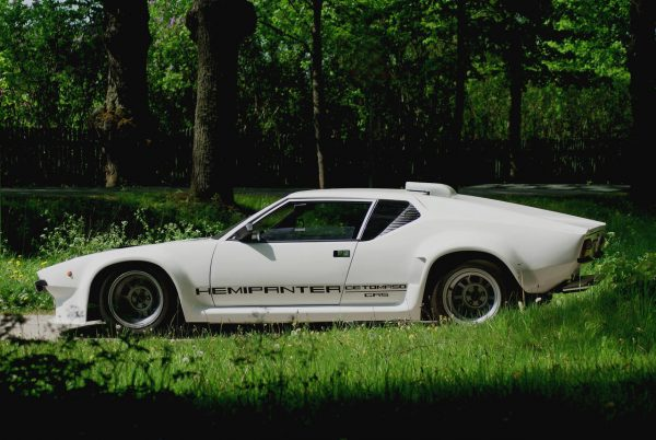 1980 De Tamaso Pantera GT-5 with a 572 ci HEMI V8