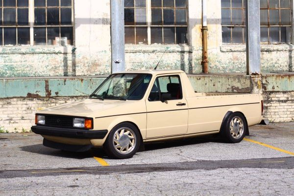 1981 VW Caddy with a Mid-Engine Turbo VR6