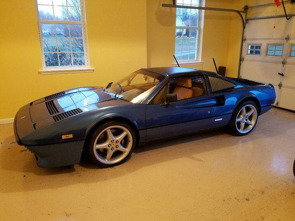 Ferrari 308 with a 400i V12 and Testarossa Heads \u2013 Engine