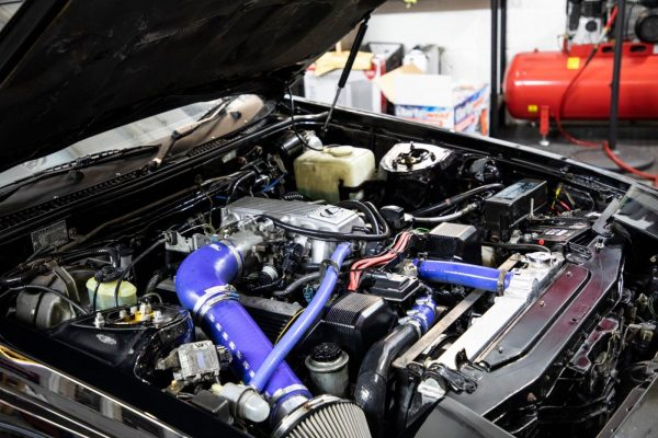1985 Toyota Celica Supra with a 1UZ V8