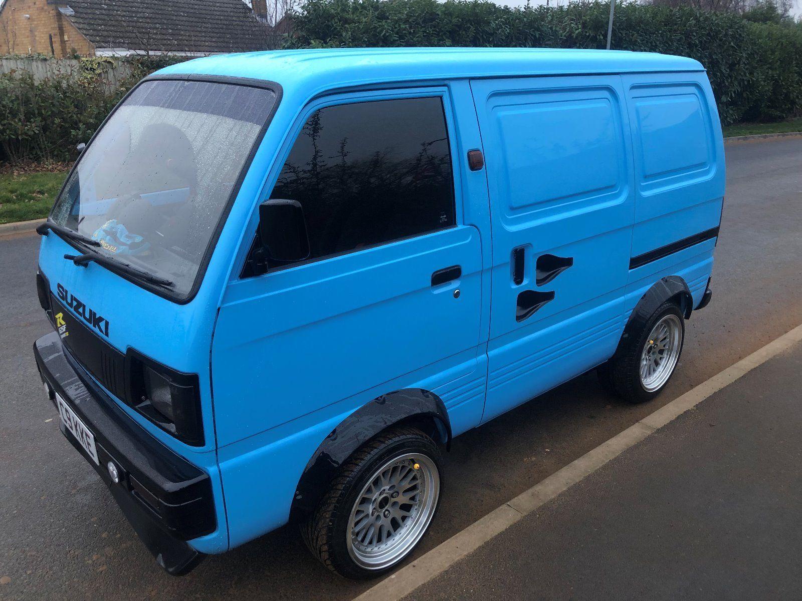 For Sale 1991 Suzuki Van With A Gsx1250 Motorcycle Engine
