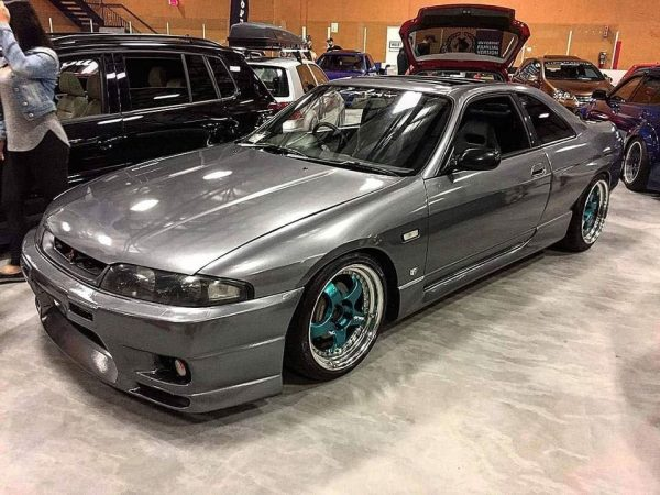 1994 Nissan Skyline R33 with a turbo 2JZ inline-six