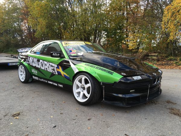 BMW E31 850 with a twin-turbo S63 V8