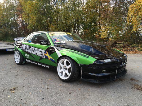 BMW E31 850 with a twin-turbo S63 V8