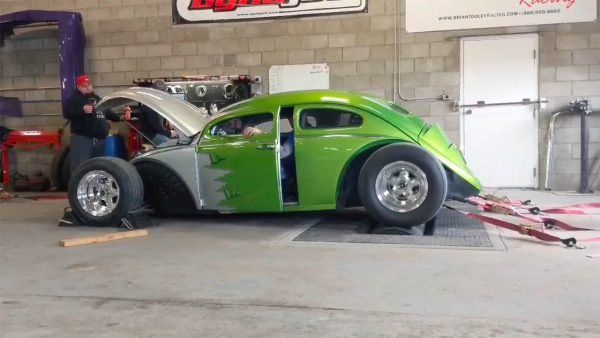 Custom VW Bug with a Supercharged LS3 V8