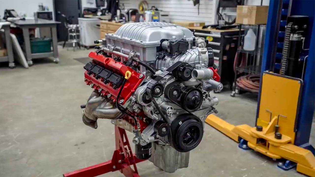 Dodge Demon supercharged 6.2 L V8 rebuild