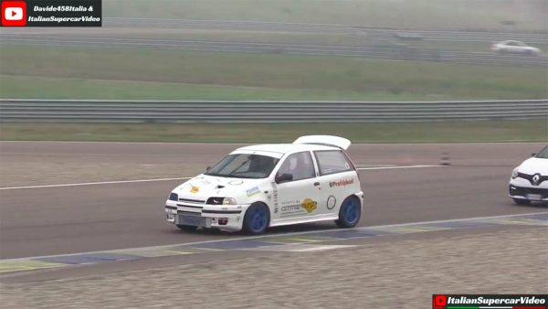 Fiat Punto with a Fiat Coupe Turbo inline-four