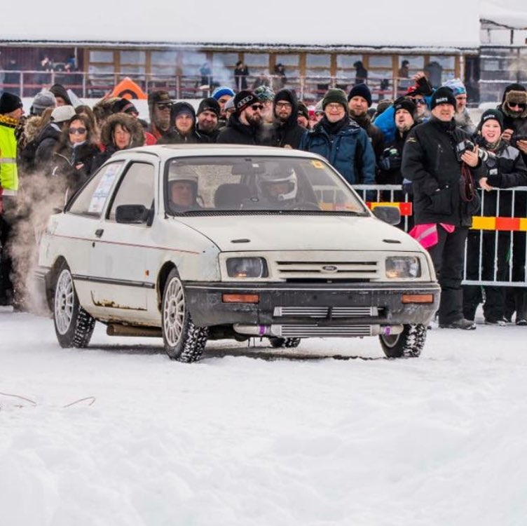Ford Sierra with a Turbo 2JZ Goes 175 mph on Ice – Engine