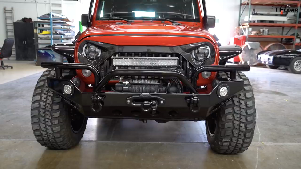Jeep Wrangler 6 6 With A Hellcat V8 Engine Swap Depot