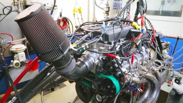 Katech supercharged LT5 V8