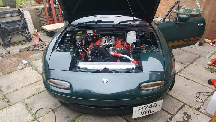 For Sale: Mazda MX-5 with a 2 5 L KL V6 – Engine Swap Depot