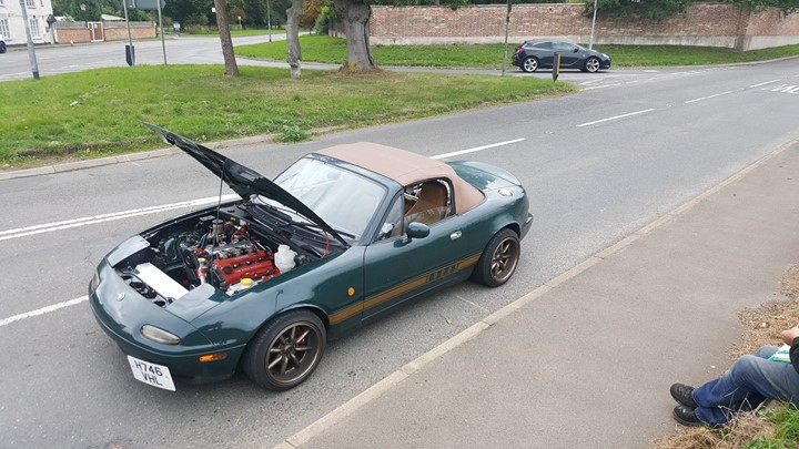 For Sale Mazda Mx 5 With A 25 L Kl V6 Engineswapdepotcom
