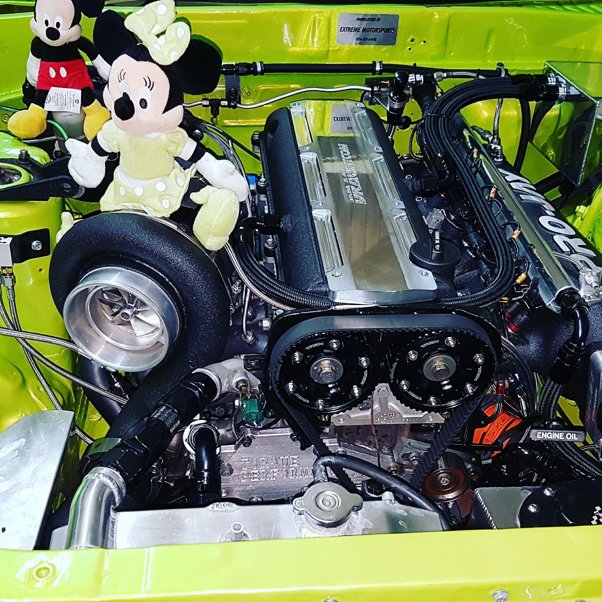 Nissan R32 Skyline with a 1800 hp 2JZ Goes 6 98 sec – Engine