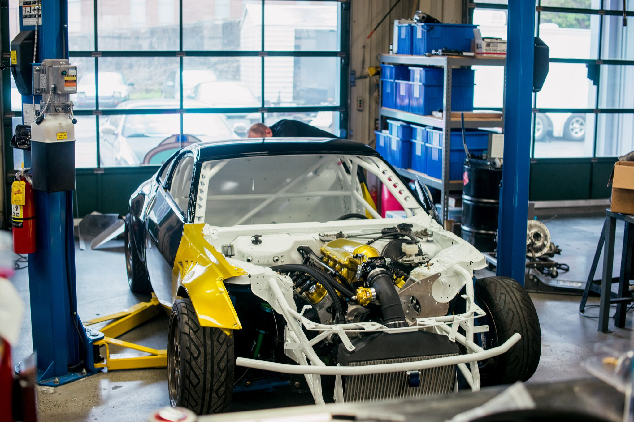 Nissan 350Z with a Supercharged LS3 V8 – Engine Swap Depot