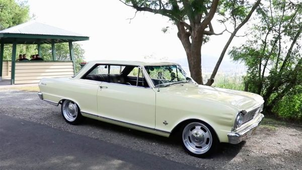 Skid Factory 1965 Nova SS with a LSx V8