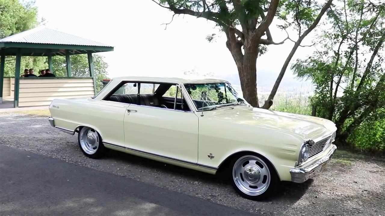 Skid Factory 1965 Nova SS with a LSx V8