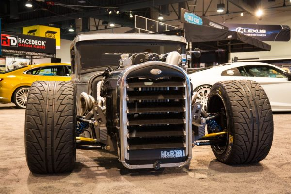 1931 Ford Model A with a supercharged Coyote V8