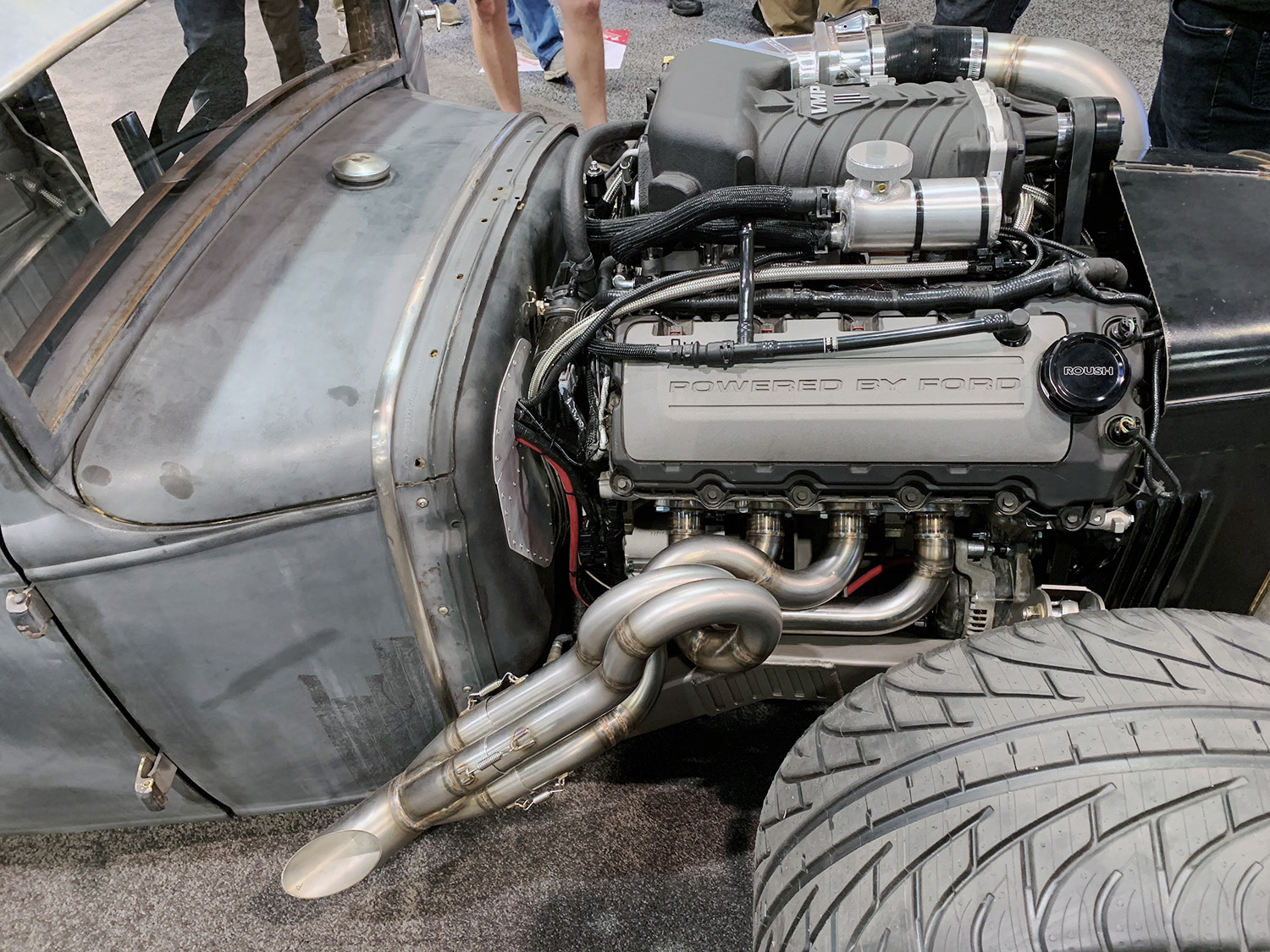 1931 Model A with a Supercharged Coyote V8 – Engine Swap Depot
