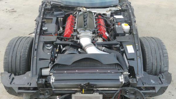 8.3 L V10 inside a 2004 Viper engine bay