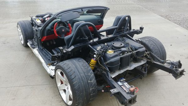 2004 Dodge Viper without any body panels