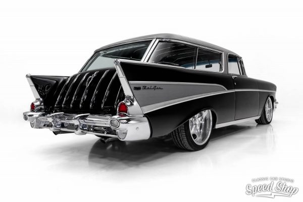 1957 Chevy Nomad with a supercharged LSA V8