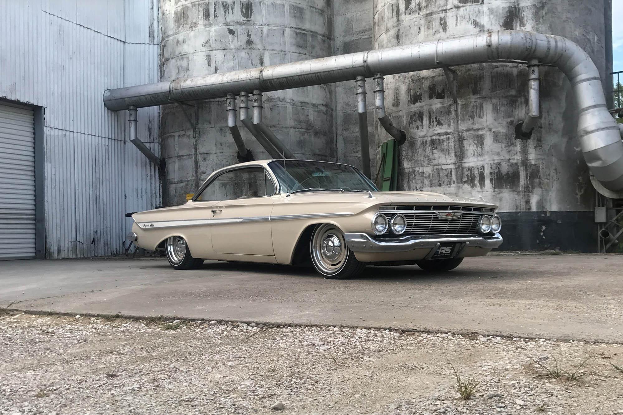 1961 Impala with a LS3 V8