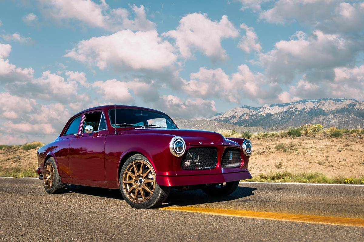 For Sale: 1964 Volvo Amazon with a Cummins R2 8 Diesel Inline-Four
