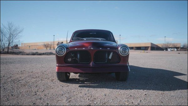 1964 Volvo Amazon with a Cummins R2.8 turbo diesel inline-four