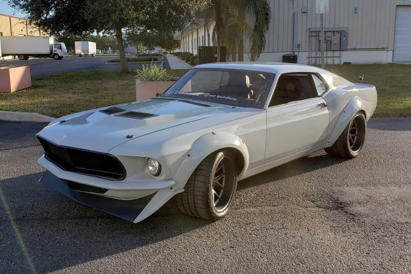 1970 Mustang with a Supercharged Coyote V8