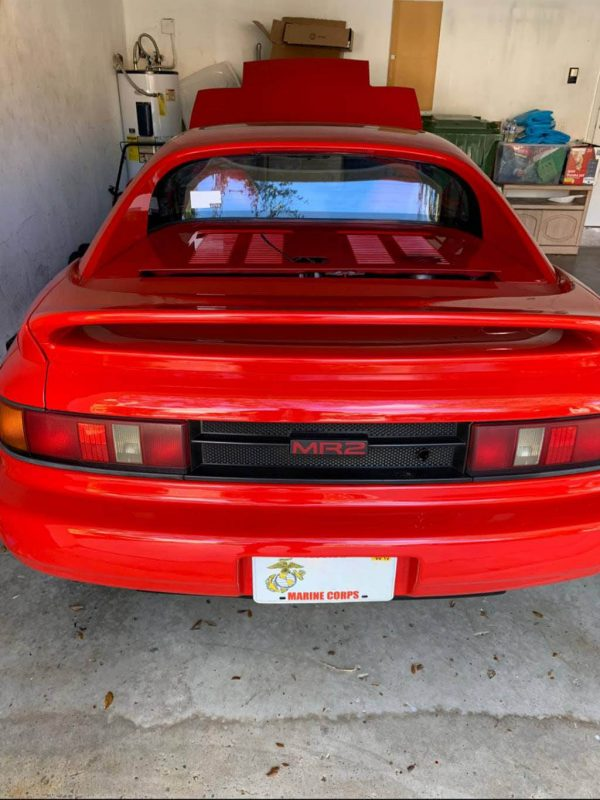 1991 Toyota MR2 with a turbo K20 inline-four