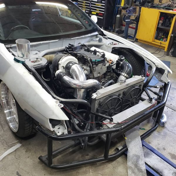1996 Nissan S14 with a turbo VR6