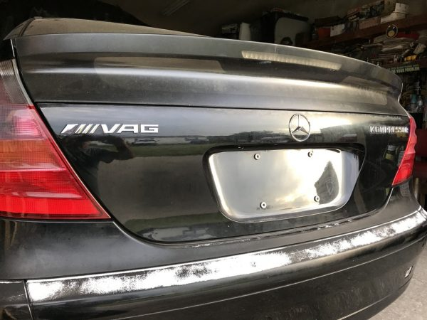 2002 Mercedes C230K with a turbo VR6