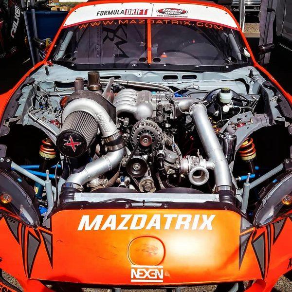2014 Mazda MX-5 with a turbo 20B three-rotor