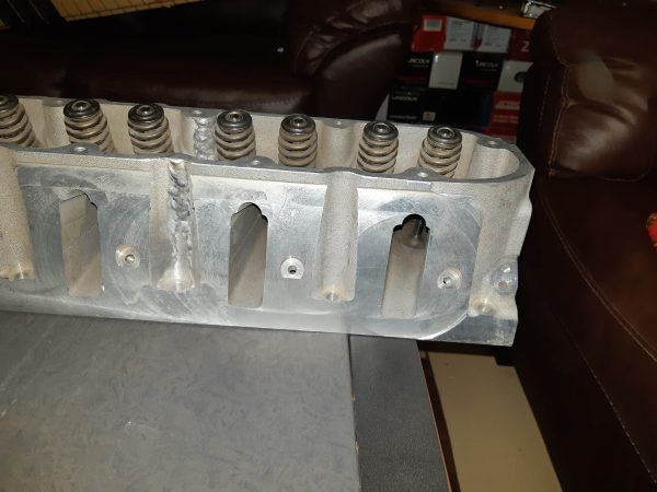 Custom LSx head for Ford 300 inline-six
