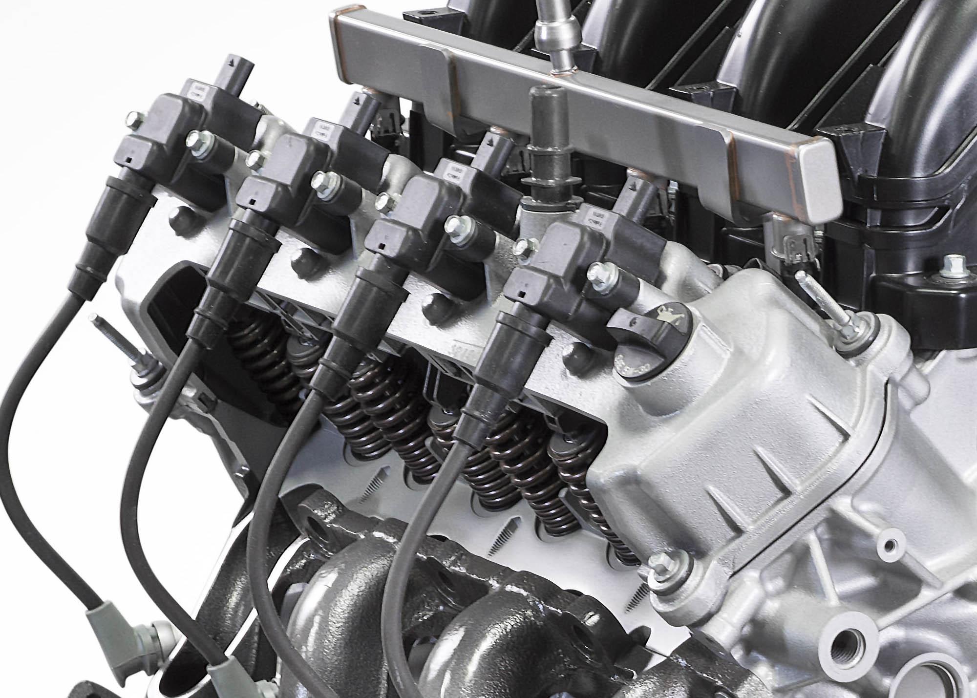 ford debuts    pushrod big block  engine swap depot