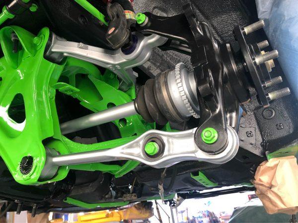 Hulk Mazda RX-7 with a turbo 20B three-rotor