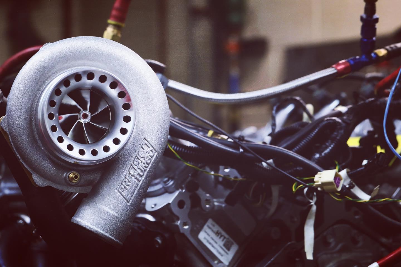 Katech twin-turbo LT5 V8