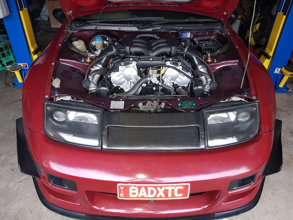 Nissan Zx With A Vr Dett V