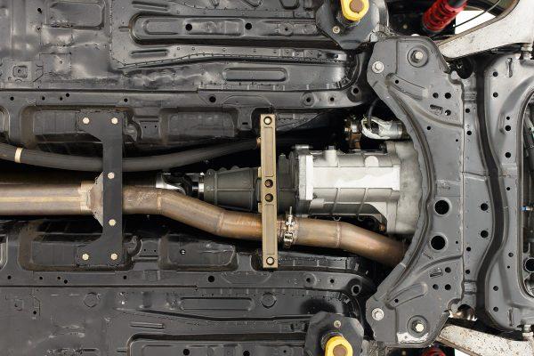 RWD Corolla iM with a turbo 2.7 L 2AR inline-four