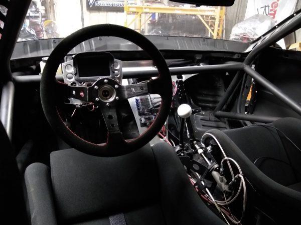 custom 1989 Honda CRX with a J35 V6 and RWD drivetrain