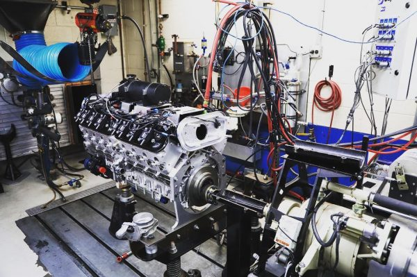 Sixteen Power LSx V16 on Katech dyno