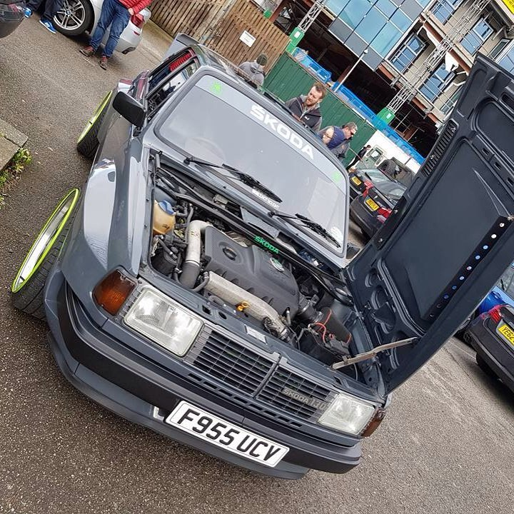 Skoda 130 with an Audi TT Quattro Powertrain – Engine Swap Depot