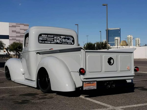 1940 Ford truck with a supercharged LS3 V8