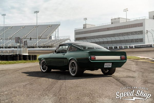 1965 Mustang with a supercharged 331 ci V8
